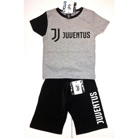 COMPLETO T-SHIRT MANICA CORTA + BERMUDA bambino ragazzo JUVENTUS FC JUVE prodotto