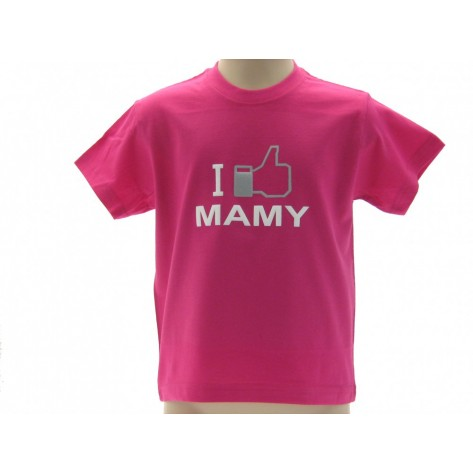 maglietta I LIKE MAMY