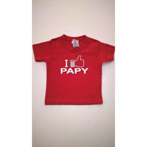 maglietta I LIKE PAPY