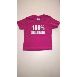maglietta 100% COCCA DI MAMMA