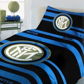 Completo letto singolo una piazza FC INTERNAZIONALE prodotto ufficiale INTER