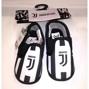 Pantofole ciabatte bimbo bambino JUVENTUS NUOVO LOGO prodotto ufficiale
