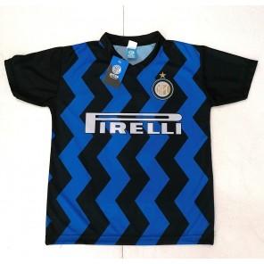 Maglia Calcio Inter Lukaku 9 Maglietta Replica Ufficiale Autorizzata 2020-2021