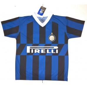 Maglia Inter Alexis Sanchez 7 Maglietta Calcio Prodotto Ufficiale 2019/2020 F.C. Internazionale Bambino Ragazzo Uomo + Polsino Forza Inter Omaggio