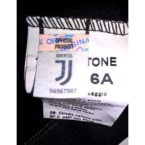 Completo Felpa + Pantaloni Tuta ragazzo juventus FC Juve Prodotto Ufficiale (Grigio) + Omaggio Zainetto Porta Tuta