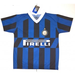 Maglia Inter Lautaro Martinez 10 Maglietta Calcio Prodotto Ufficiale 2019/2020 F.C. Internazionale Bambino Ragazzo Uomo + Polsino Forza Inter Omaggio