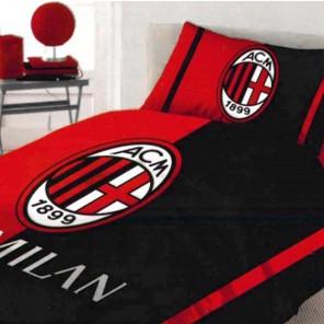 Completo letto lenzuolo singolo una piazza A.C. Milan prodotto ufficiale Milan