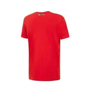 SCUDERIA FERRARI. T-Shirt Ferrari Maglia Ufficiale Uomo Adulto Cavallino Maglietta Rossa