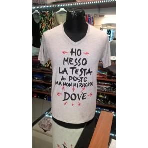 maglietta HO MESSO LA TESTA  A  POSTO..