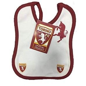 Set Bavaglino + succhietto Ciuccio (Granata) TORINO F.C. TORO Prodotto Ufficiale